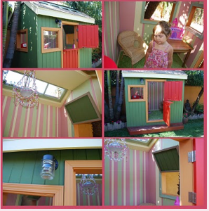 Colorful Kids Playhouse