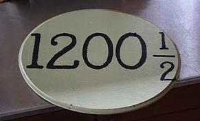 Address plate