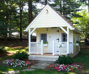 Kids playhouse exterior