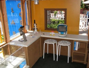 Kids playhouse blog for Interior playhouse designs