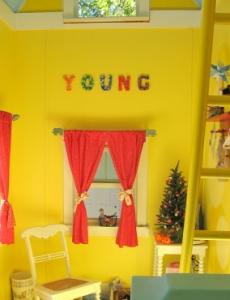 Inside a kids playhouse 5